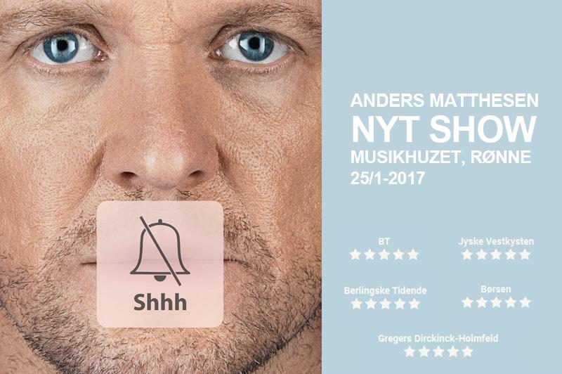 Anders Matthesen på Bornholm EXTRA SHOW