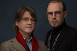 Peter Lund Madsen og Jan Hellesøe
